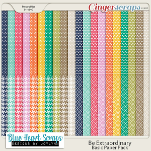 Be Extraordinary Basic Paper Pack