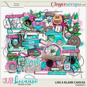 Like A Blank Canvas Elements by JB Studio