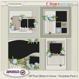All That Glitters Is Snow - Template Pack 2