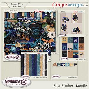 Best Brother - Bundle by Aprilisa Designs