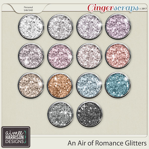 An Air of Romance Glitters by Aimee Harrison