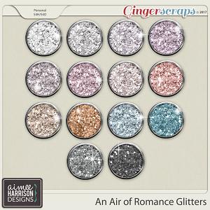 An Air of Romance Glitters by Aimee Harrison