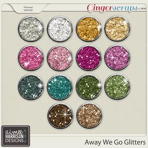 Away We Go Glitters by Aimee Harrison