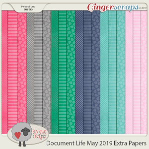Document Life May 2019 Extra Papers by Luv Ewe Designs