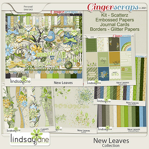 New Leaves Collection by Lindsay Jane