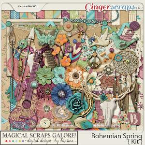 Bohemian Spring (page kit)