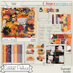 Sunset - Bundle by Connie Prince