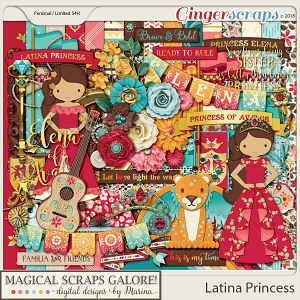 Latina Princess (page kit)