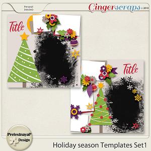 Holiday season Templates Set1