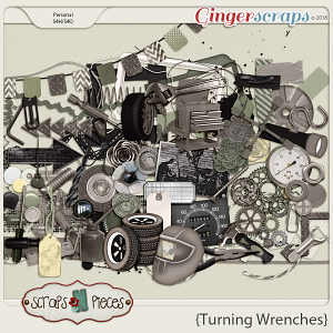 Turning Wrenches Elements by Scraps N Pieces