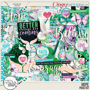 Hope - Page Kit - by Neia Scraps