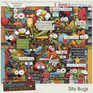 Silly Bugs by BoomersGirl Designs