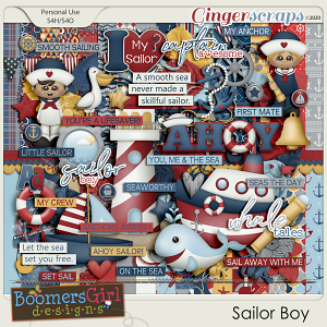Sailor Boy by BoomersGirl Designs