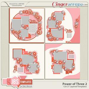 Power of Three 2 Templates by JB Studio