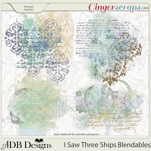 I Saw Three Ships Blendables by ADB Designs