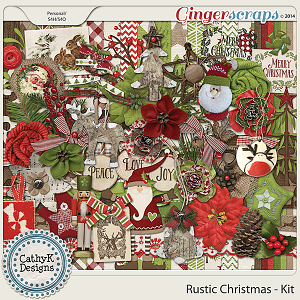Rustic Christmas - Kit