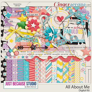 All About Me Digital Kit by JB Studio