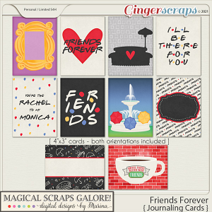 Friends Forever (journaling cards)
