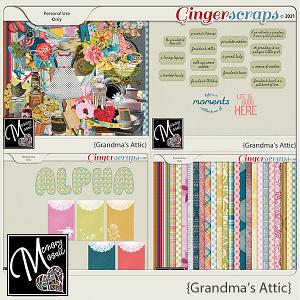 Grandma's Attic by Memory Mosaic