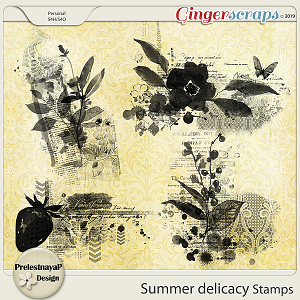 Summer delicacy Stamps