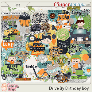 Drive By Birthday Boy Elements