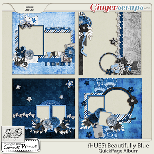{HUES} Beautifully Blue - QuickPage Album