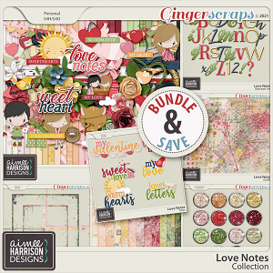 Love Notes Collection by Aimee Harrison