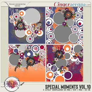 Special Moments- VOL.10 - Templates - by Neia Scraps