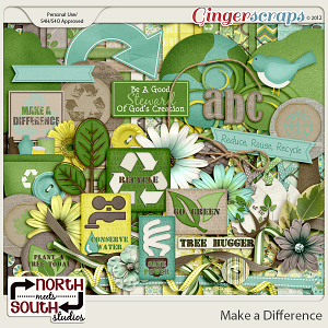 Make A Difference Collab Kit by North Meets South Studios