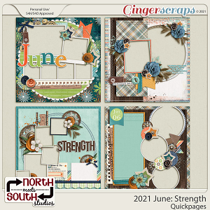 2021 June: Strength Quickpages by North Meets South Studios