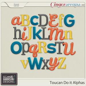 Toucan Do It Alpha Sets by Aimee Harrison