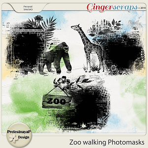 Zoo walking Photomasks