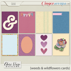 Weeds & Wildflowers Cards by Chere Kaye Designs