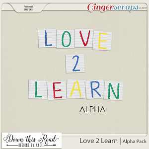 Love 2 Learn | Alpha Pack