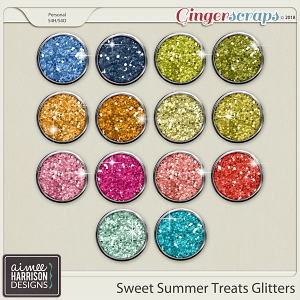Sweet Summer Treats Glitters by Aimee Harrison