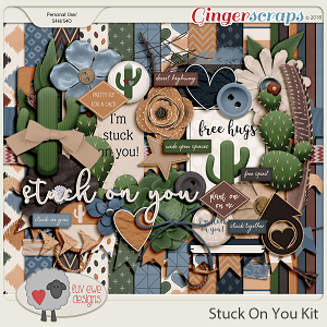 Stuck On You Kit by Luv Ewe Designs