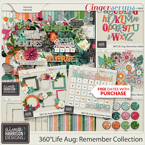 360°Life Aug: Remember Collection by Aimee Harrison