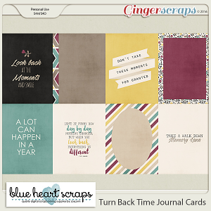 Turn Back Time Journal Cards
