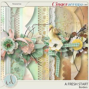 A Fresh Start Borders by Ilonka's Designs