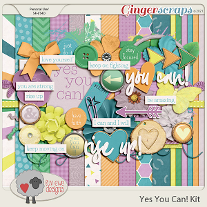 Yes You Can Kit by Luv Ewe Designs