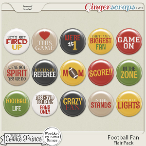 Football Fan - Flair Pack