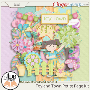 Toyland Town Petite Kit by ADB Designs