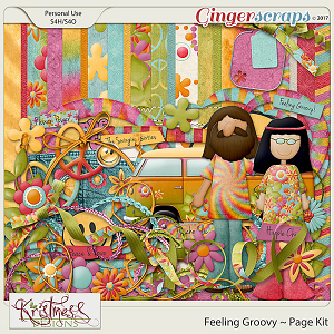 Feeling Groovy Page Kit