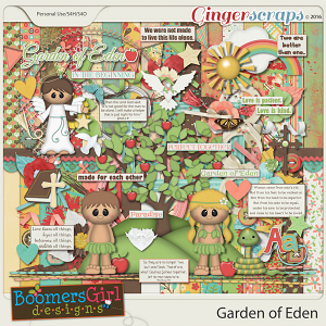 Garden of Eden by BoomersGirl Designs