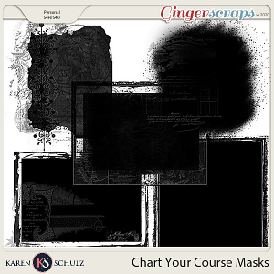 Chart Your Course Masks by Snickerdoodle Designs