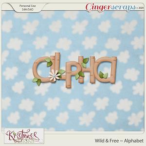 Wild & Free Alphabet