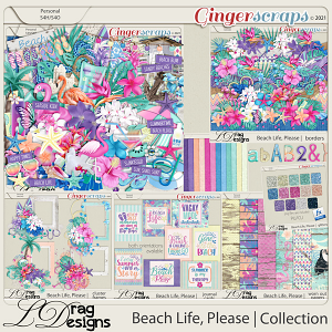 Beach Life, Please: The Collection by LDragDesigns
