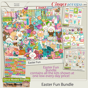 Easter Fun Bundle by Clever Monkey Graphics
