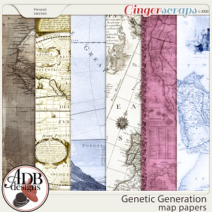 Genetic Generation Maps Papers by ADB Designs