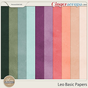 Leo Basic Papers by JoCee Designs